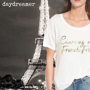 Daydreamer LA Champagne & French Fries Tee